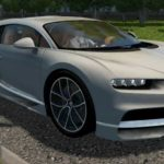 Bugatti Chiron 2016 / Мод для City Car Driving